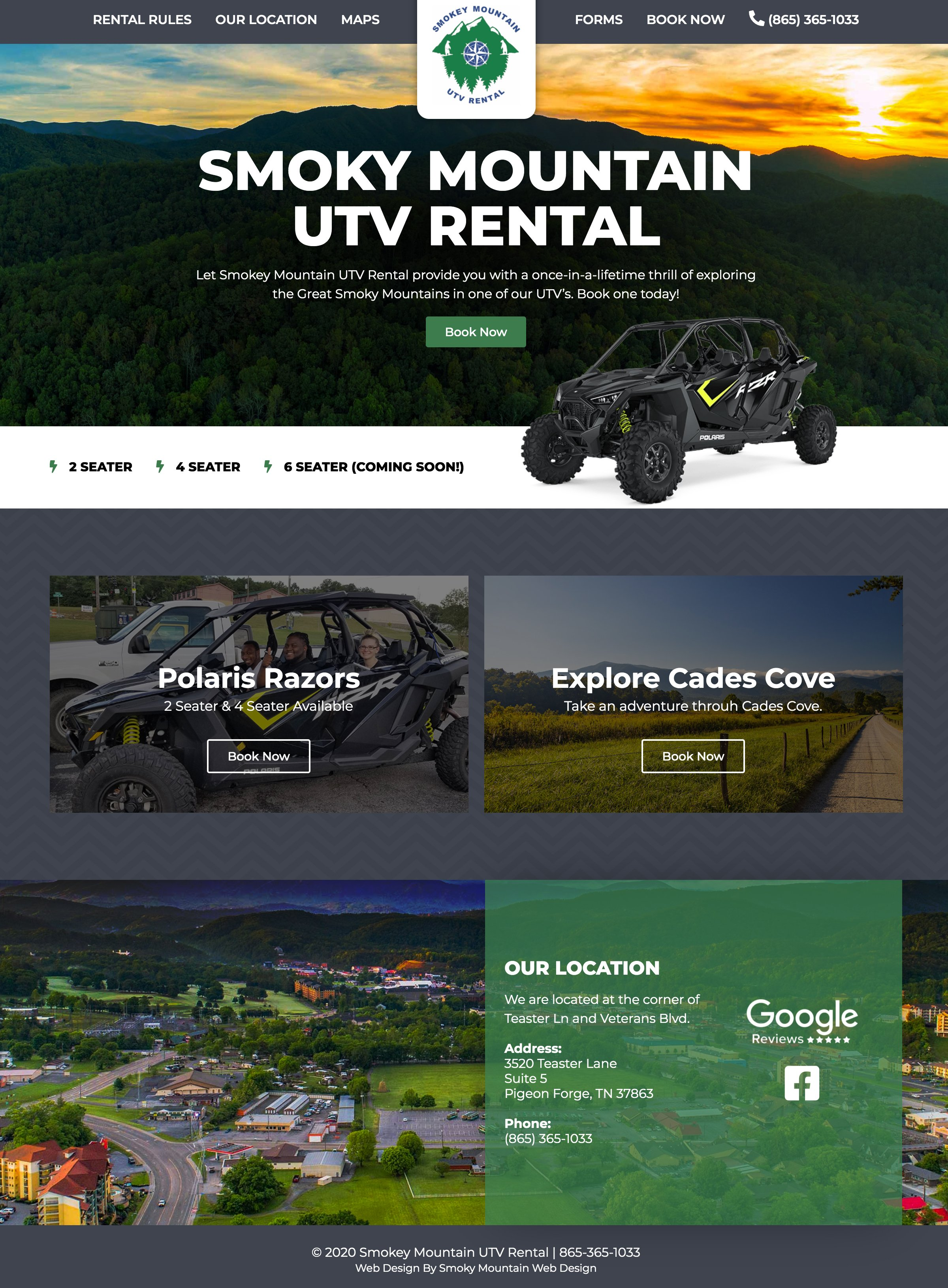 Smokey Mountain UTV Rental